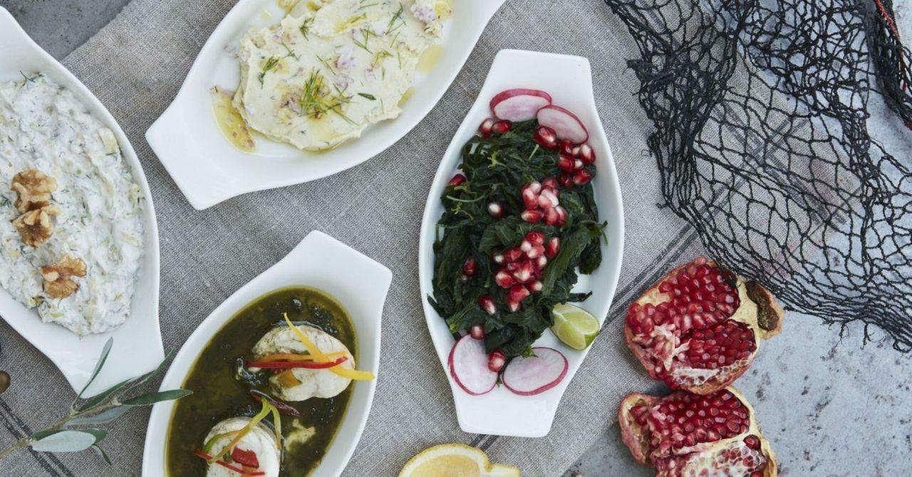Greek food in Dubai: Tzatziki at Fish