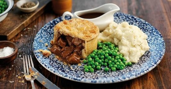 Where to find British pies in Dubai