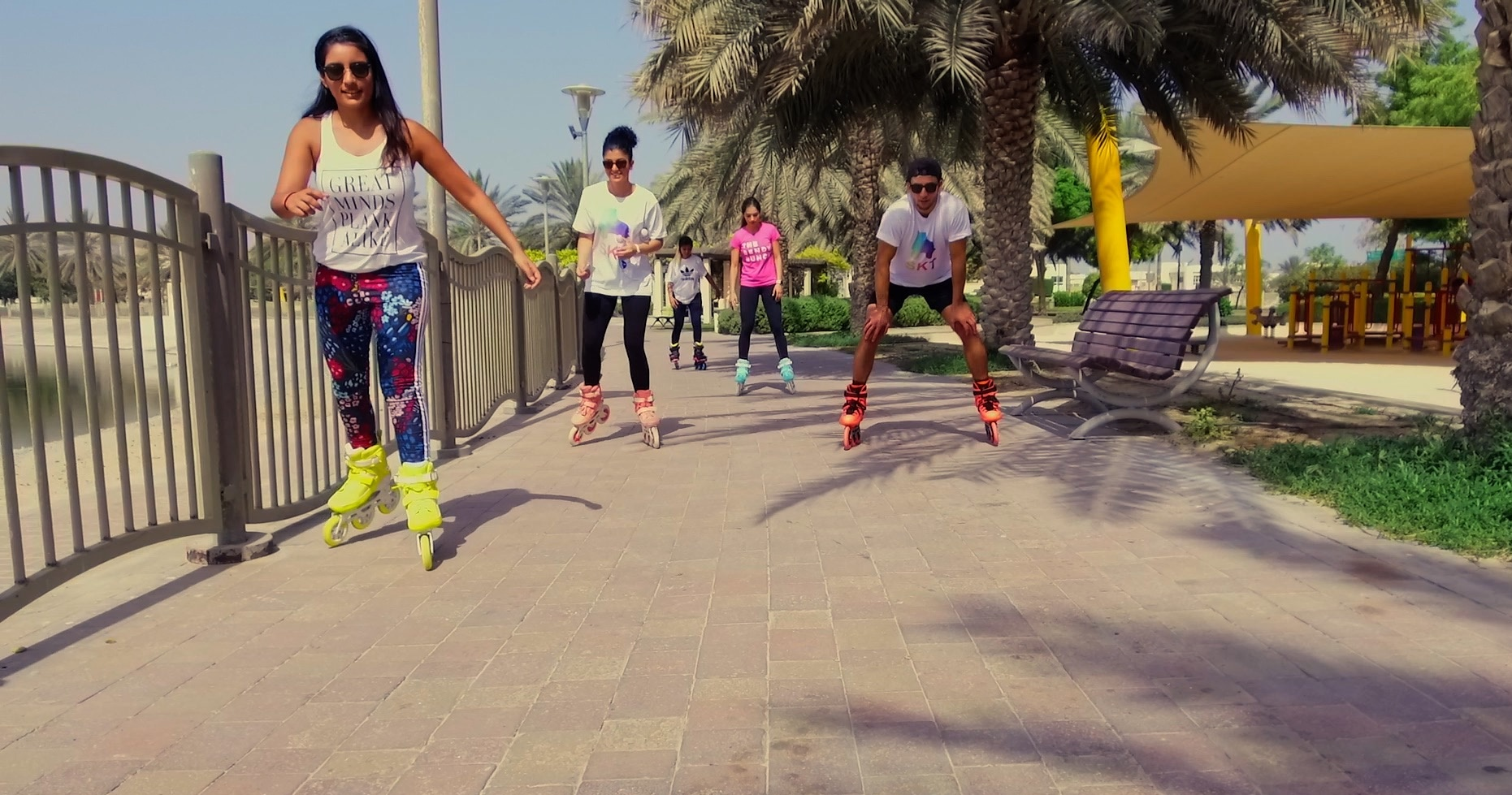 WeAreSkt roller skating in Dubai - fun fitness in dubai