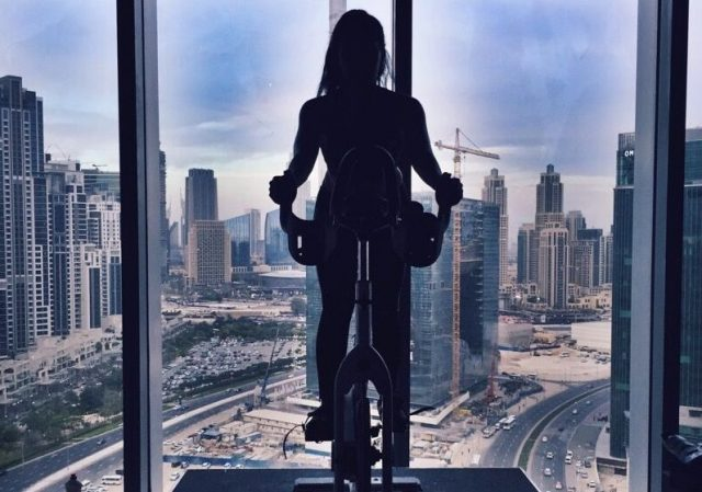 spin classes in dubai for a full body workout - motion cycling dubai