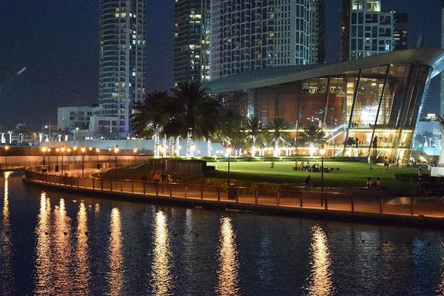things to do in downtown dubai - bike around burj park