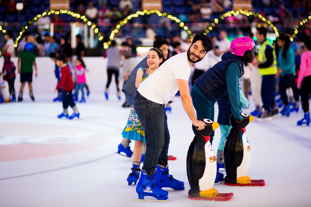 things to do in dubai with kids ramadan 2018 Dubai Ice Rink by Emaar Entertainment