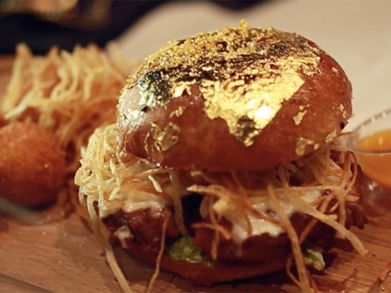 The One & Only Ossobuco Burger at 24 Karat