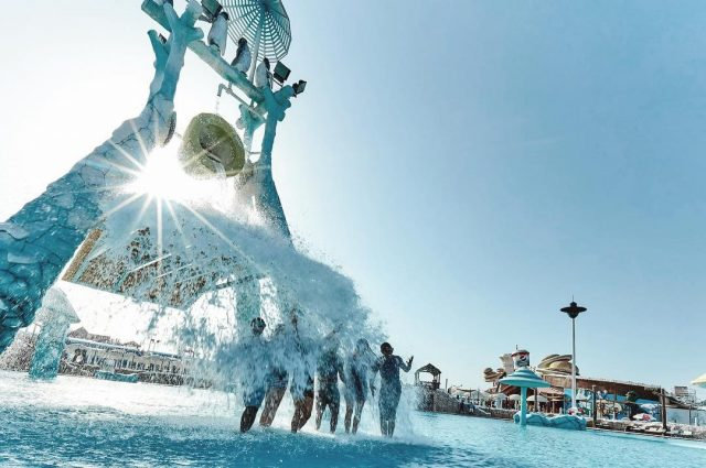 things to do in uae - adventures in uae - iceland water park rak