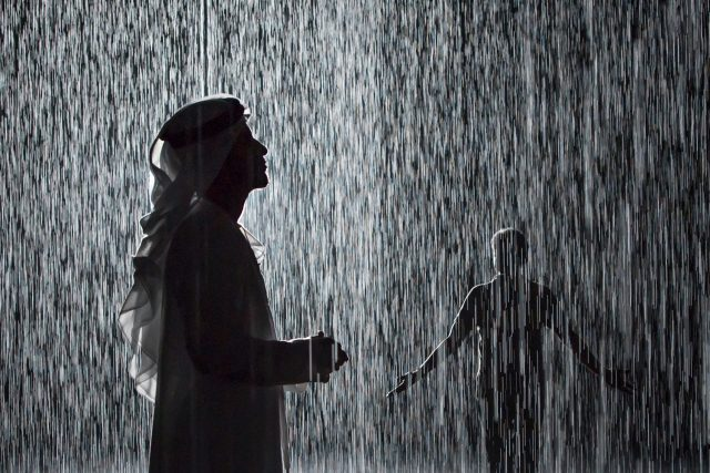 things to do in uae - adventures in uae - rain room sharjah