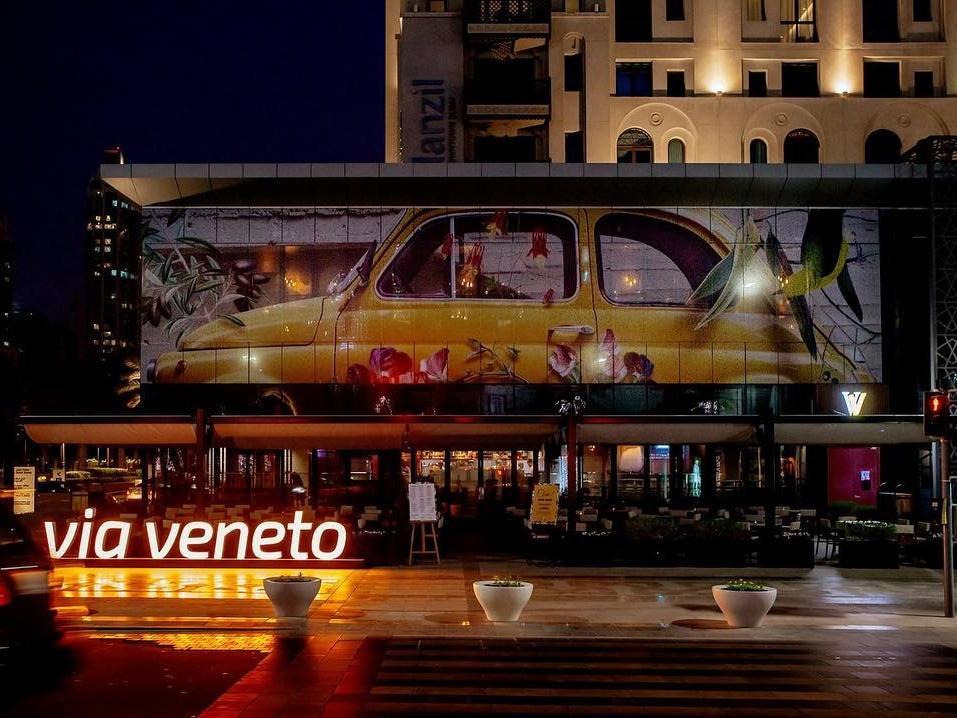 Pizza & Prosecco Brunch at Via Veneto