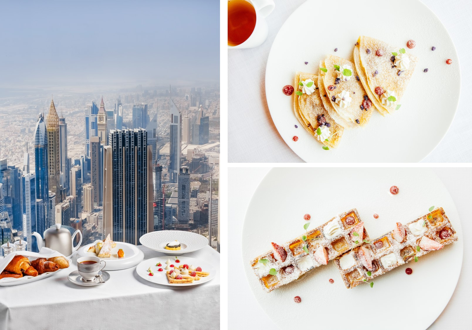 Sky-high breakfast in Dubai at At.mosphere, Burj Khalifa