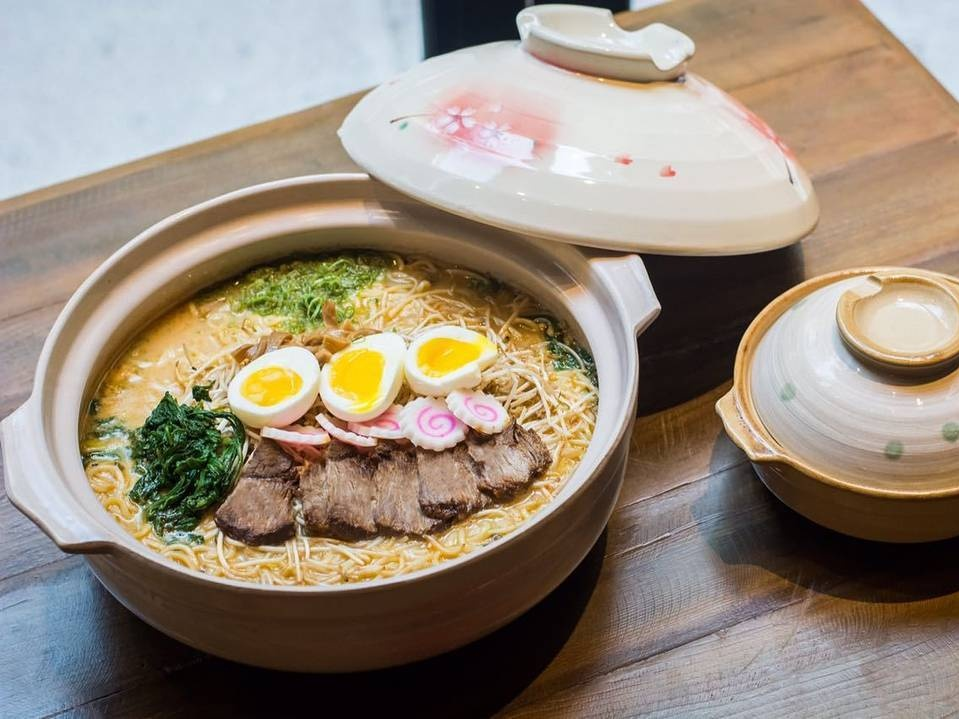 ramen in Dubai at Atisuto