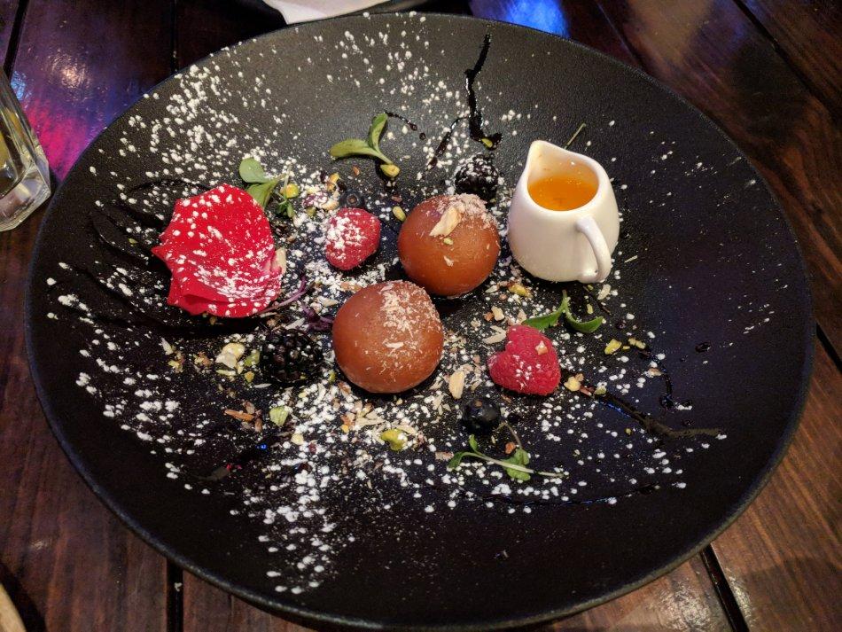 Gulab Jamun atFarzi Cafe Dubai