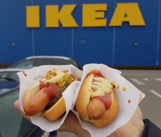 AED 5 Hot Dog at IKEA