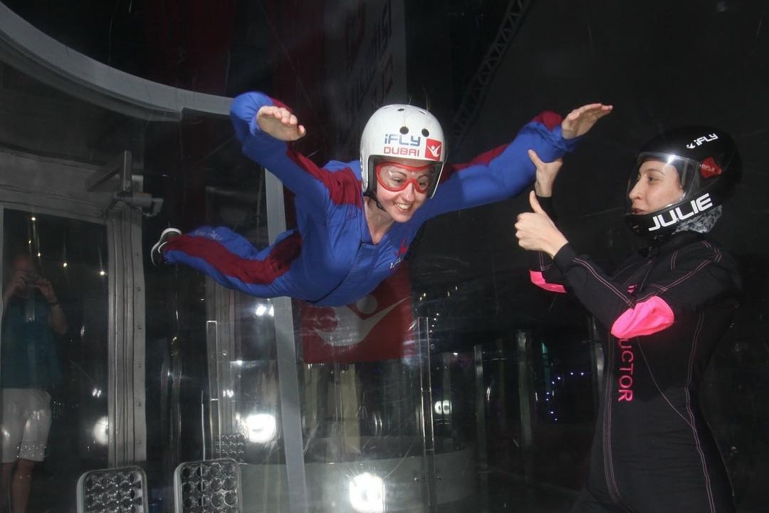 indoor adventures in dubai - ifly dubai 2