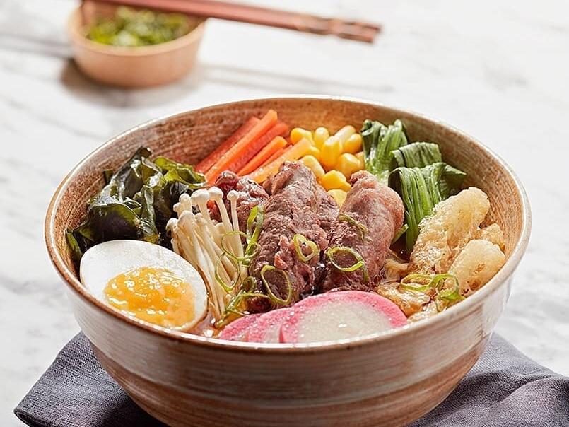 ramen in Dubai at Miyabi Sushi & Bento