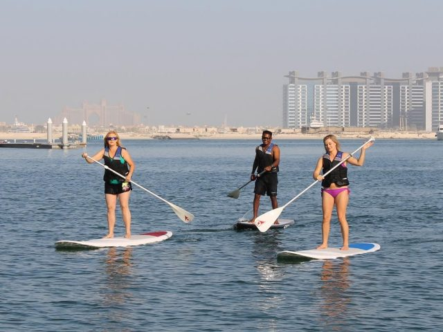 stand-up-paddle-boarding-dubai-marina-watercooled