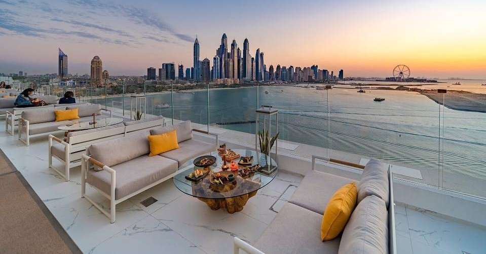 The Penthouse rooftop restaurant in Dubai