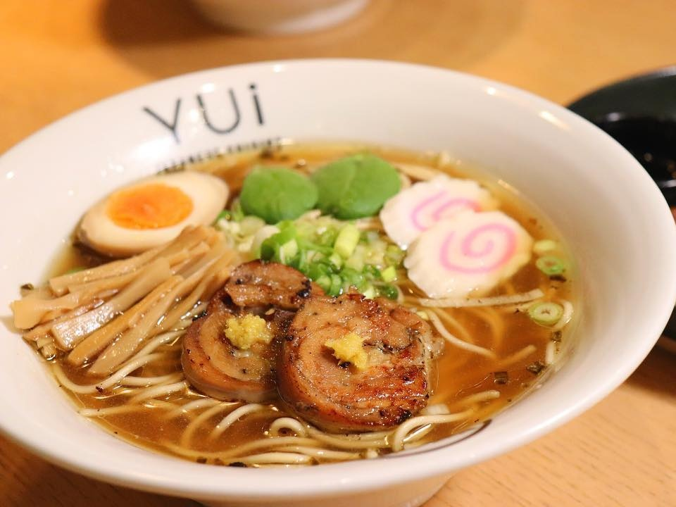 ramen in Dubai at YUi Dubai