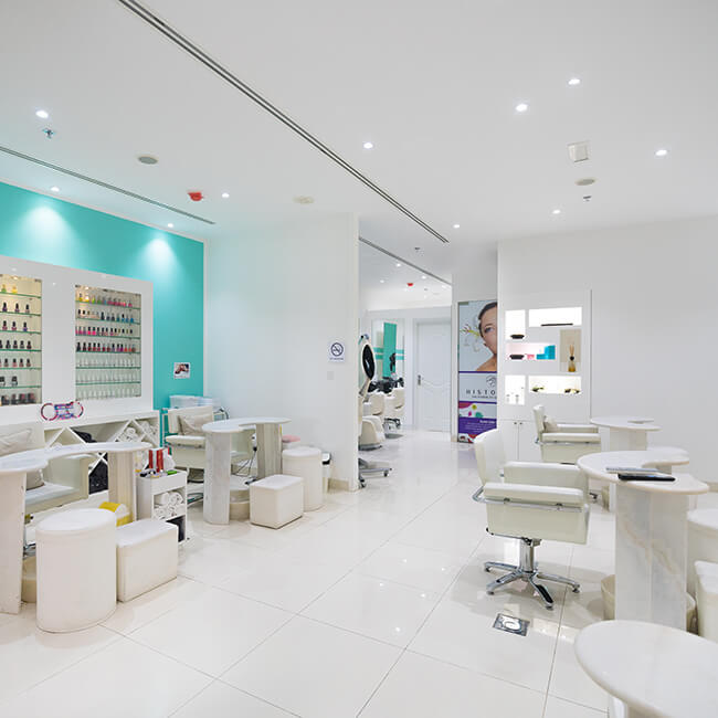 Queens Beauty Lounge salon in Dubai
