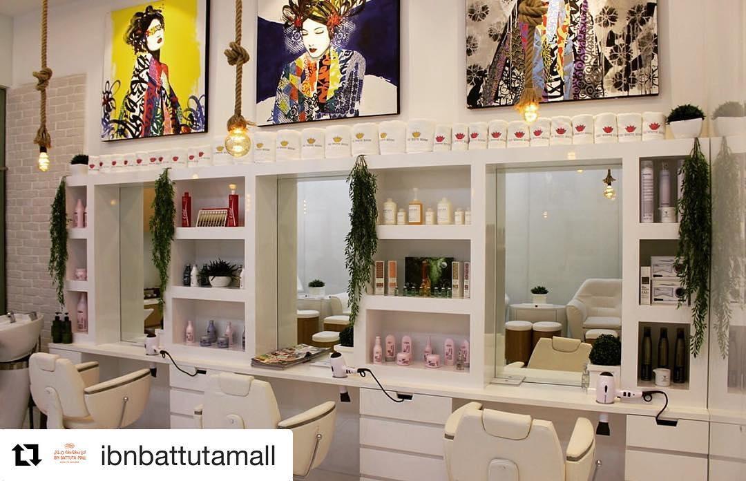The White Room salon in Dubai