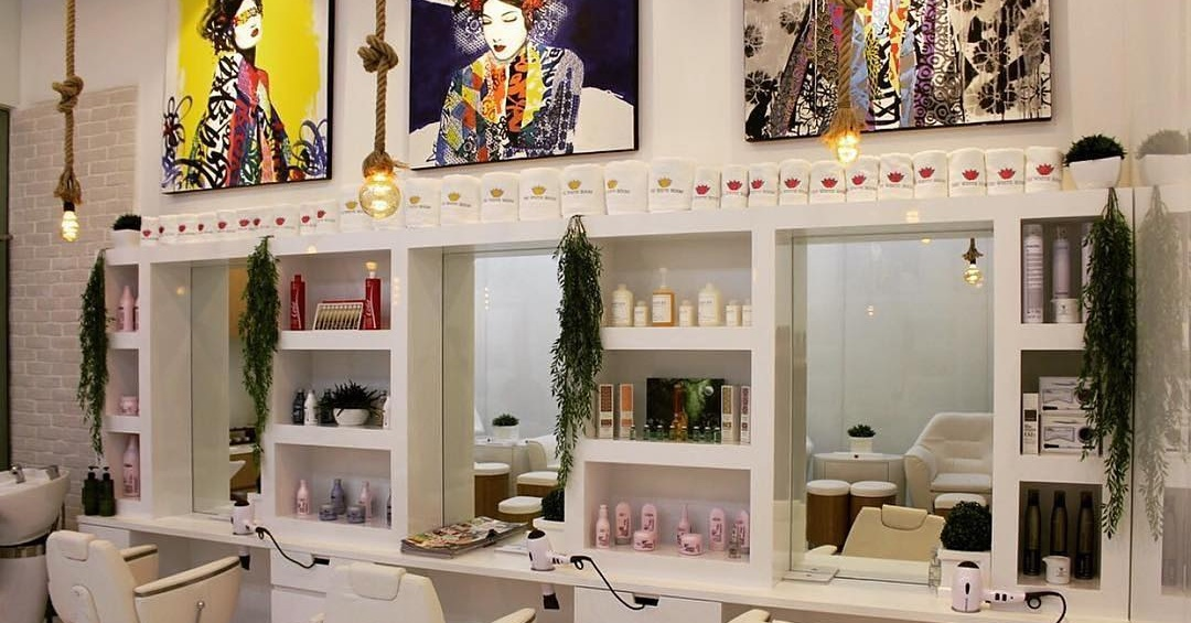 The White Room salon in Dubai