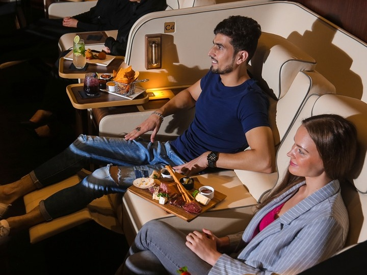 VIP cinema experience at Platinum Suites Reel Cinemas Dubai