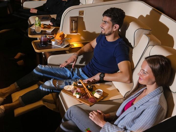 VIP cinema experience at Platinum Suites Reel Cinemas Dubai