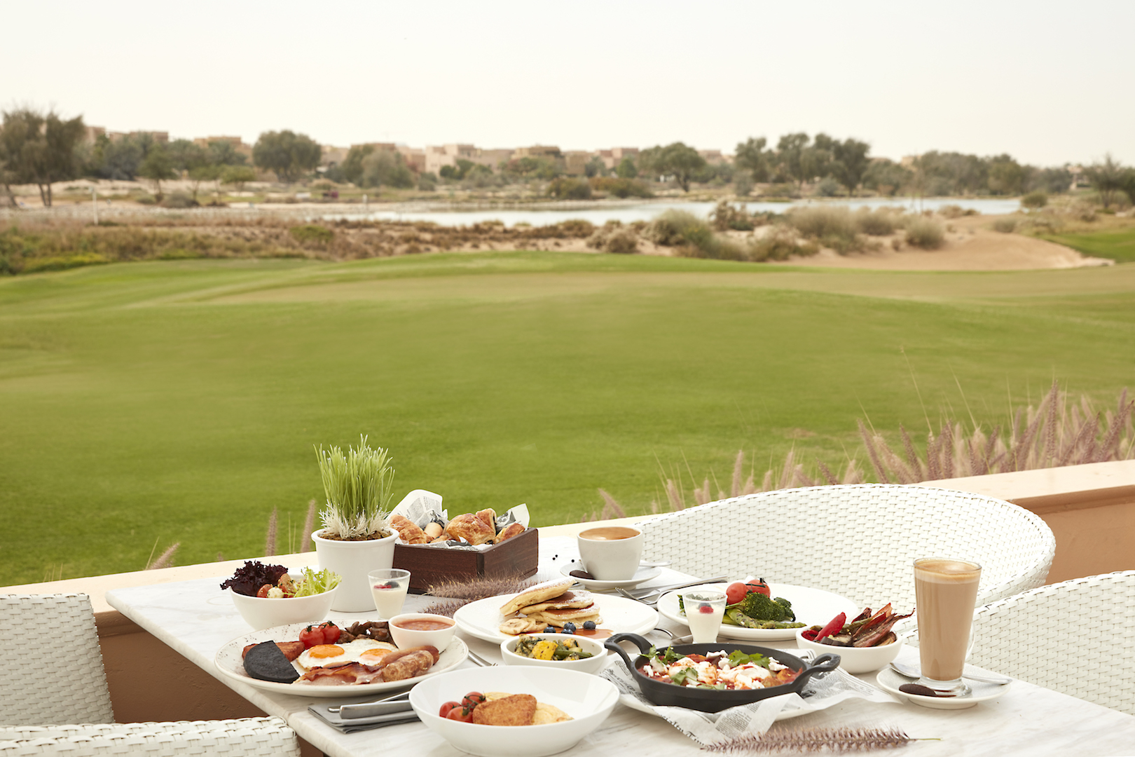 Lazy Dubai Breakfast at Ranches Restaurant