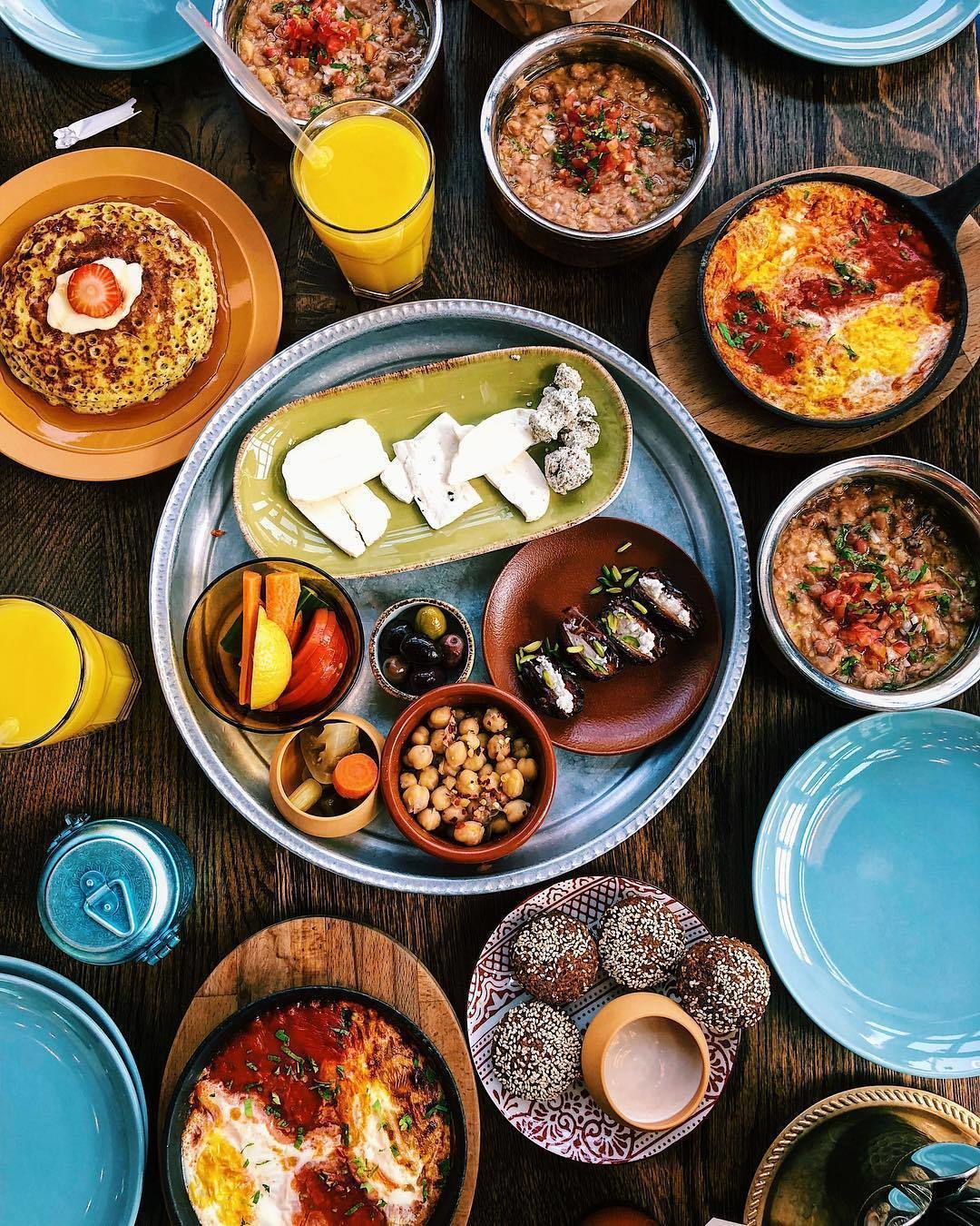 Emirati-style Dubai breakfast at SIKKA Café