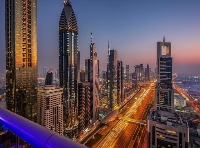 dubai-skyline-view-level-43-dubai-sheikh-zayed-road-at-night