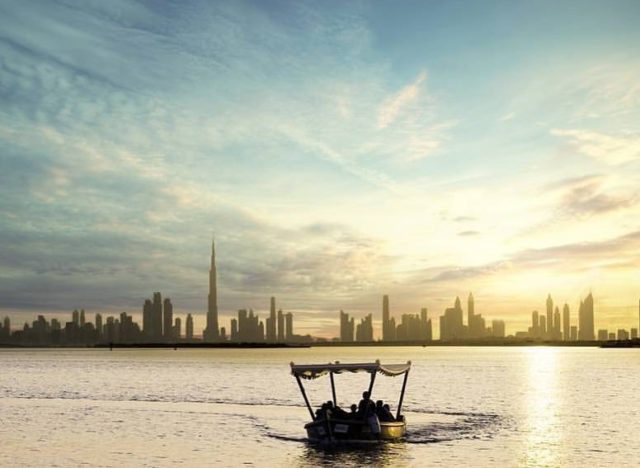 dubai-skyline-view-duabi-creek-harbour-boat-ride