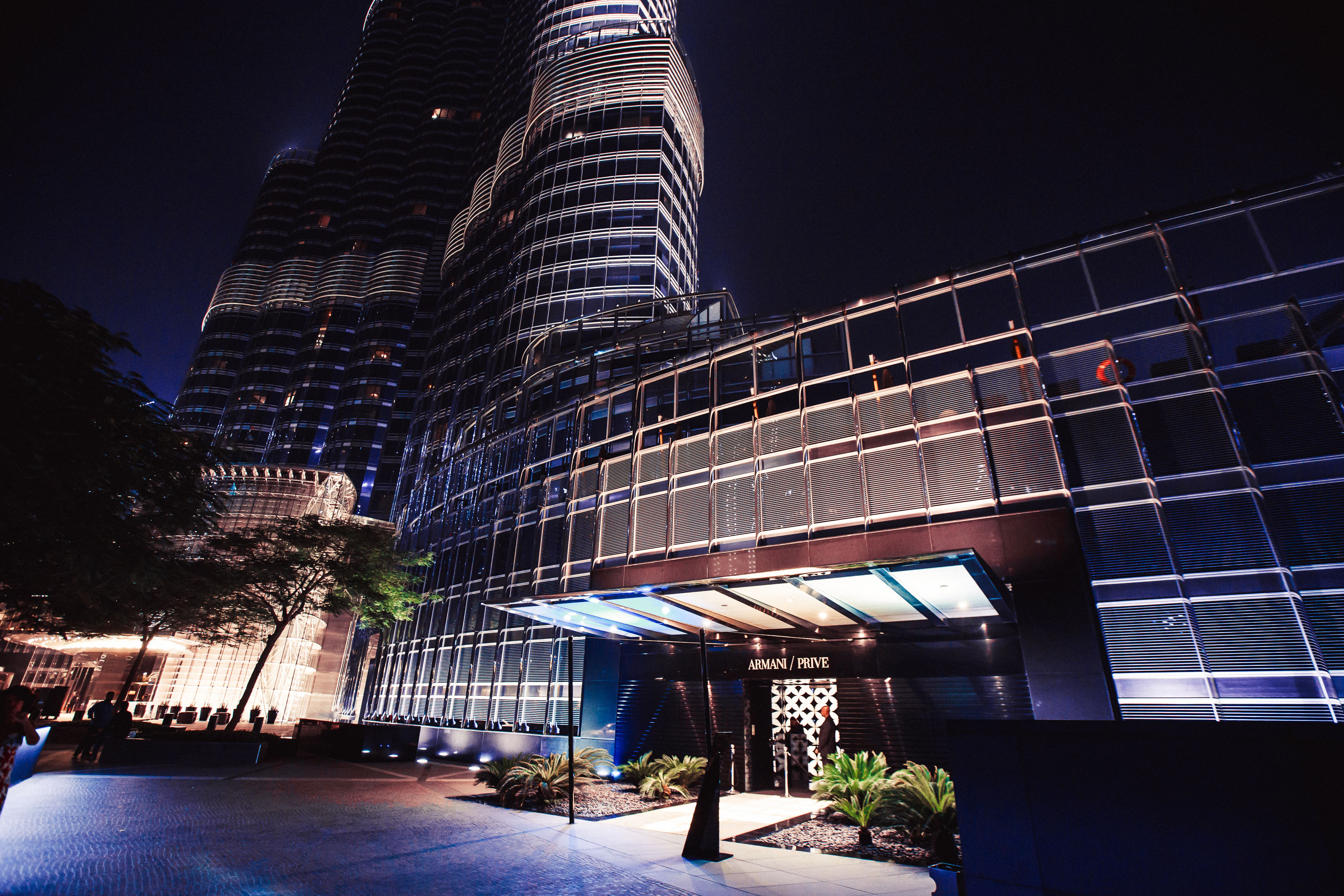Armani Prive at Burj Khalifa - venue outside