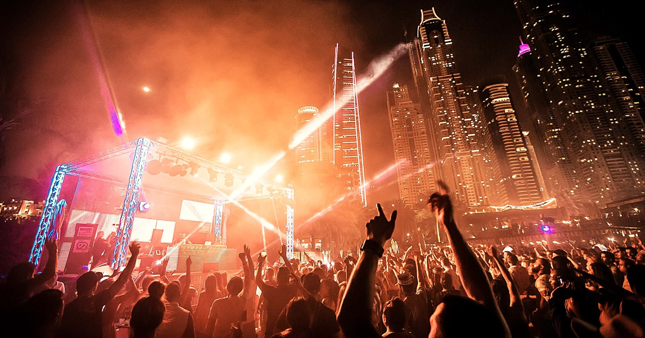 Barasti Beach Bar - new year's eve parties in dubai 2018