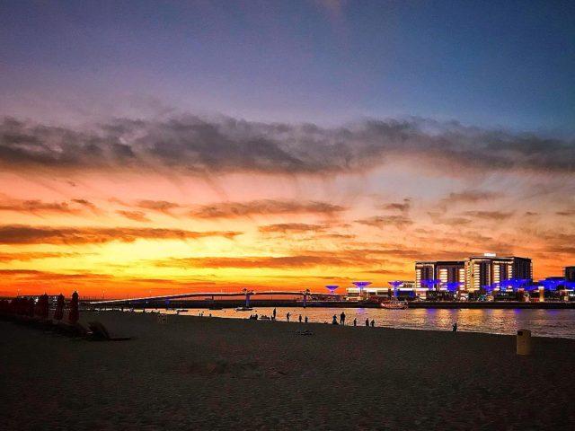 sunsets-in-dubai-bluewaters-island-jbr-dubai-