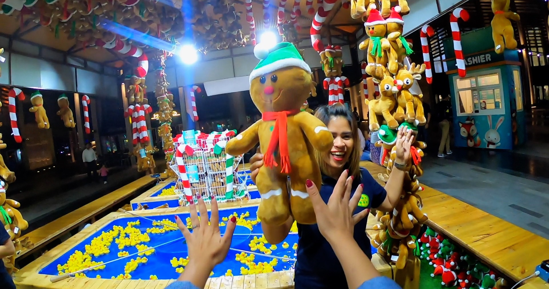 free festive carnival at the beach dubai