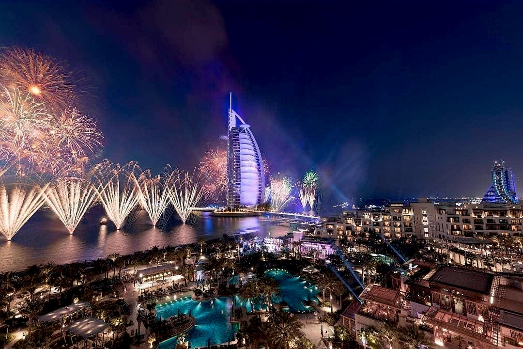 Where to Watch the New Year's Eve Fireworks in Dubai | insydo