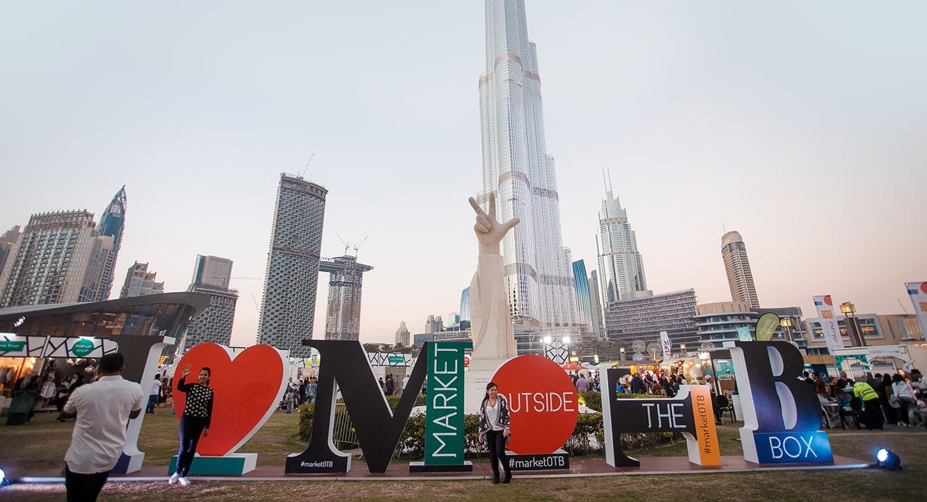 Dubai Shopping Festival 2019 at Market Outside the Box