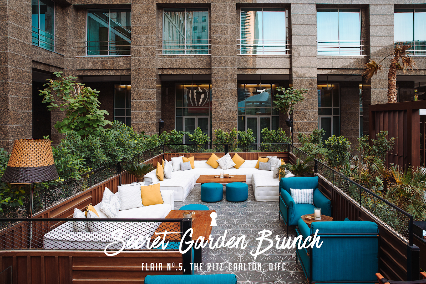 Secret Garden Brunch at Flair No.5