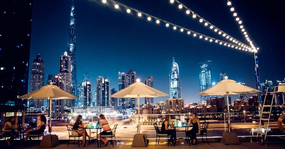 ladies nights in dubai weekend - swim and tonic business bay