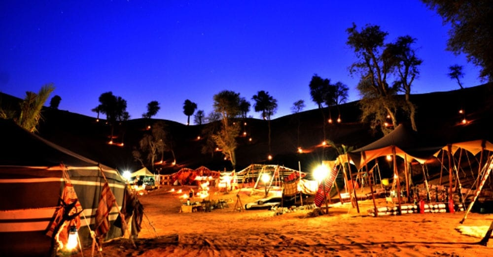 bedouin oasis camp - ras al khaimah - where to party in dubai this weekend