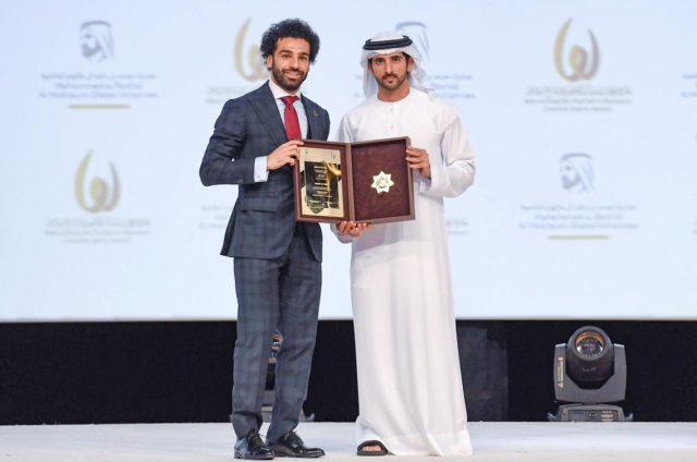 Mo Salah Outstanding Arab Athlete