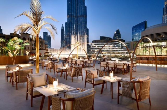 romantic restaurants in dubai - zeta dubai - valentines day 2019