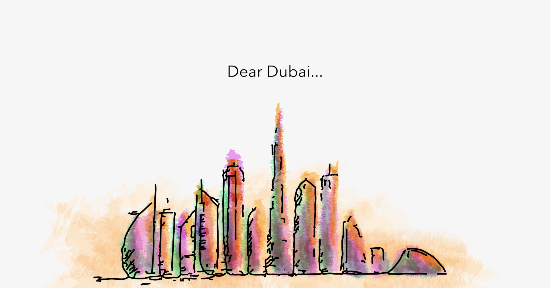 insydo Dear Dubai campaign