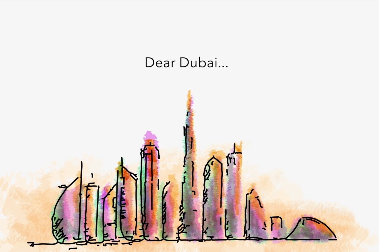 insydo marketing campaign - Dear Dubai